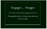 Site Voyages…Visages